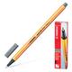 Ручка капиллярная STABILO «Point», толщина письма 0,4 мм, темно-серая