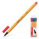 Ручки капиллярные STABILO, набор 6 шт., «Point», 0,4 мм (голубая, красная, синяя, черная, фиолетовая, сиреневая)