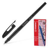Ручка шариковая STABILO «Re-Liner», толщина письма 0,38 мм, черная