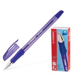 Ручка шариковая STABILO «Bille», корпус прозрачный, игольчатый узел 0,7 мм, линия 0,38 мм, синяя