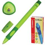 Ручка шариковая STABILO «Left Right», для правшей, корпус зеленый, толщина письма 0,45 мм, синяя