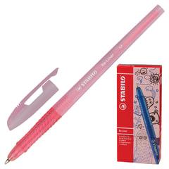 Ручка шариковая STABILO «Re-Liner», корпус розовый, узел 0,7 мм, линия 0,38 мм, розовая