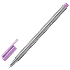Ручка капиллярная STAEDTLER (Германия), трехгранная, толщина письма 0,3 мм, лавандовая