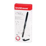 Ручка гелевая ERICH KRAUSE «CHARM», корпус черный, игольчатый пишущий узел, 0,4мм, 39006, черная