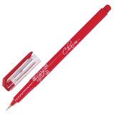 Ручка гелевая ERICH KRAUSE «CHARM», корпус красный, игольчатый пишущий узел, 0,4 мм, красная