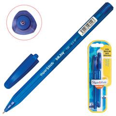 Ручки шариковые PAPER MATE, набор 2 шт., «Inkjoy 100», корпус тонированный, узел 0,7 мм, линия 0,5 мм, синяя