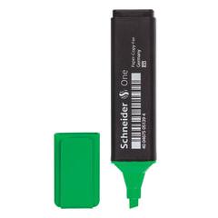 Текстмаркер SCHNEIDER (Германия) «One», скошенный наконечник 1-5 мм, зеленый