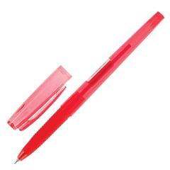 Ручка шариковая масляная PILOT «Super Grip G», узел 0,7 мм, линия 0,22 мм, резиновый упор, красная