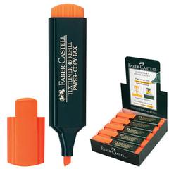 Текстмаркер FABER-CASTELL (Германия) «1548», скошеный наконечник 1-5 мм, оранжевый
