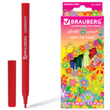 ���������� BRAUBERG (��������) «Blooming flowers», 6 ������, ������������� ��������, ��������� �������� � �������� �������