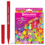���������� BRAUBERG (��������) «Blooming flowers», 12 ������, ������������� ��������, ��������� �������� � �������� �������