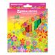 ���������� BRAUBERG (��������) «Blooming flowers», 24 �����, ������������� ��������, ��������� �������� � �������� �������