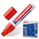 Маркер для окон и стекла EDDING, 4-15 мм, смываемый, на меловой основе, красный