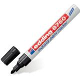 Маркер перманентный для промышленной графики EDDING, 2-4 мм, круглый наконечник, черный