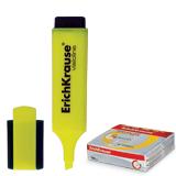 Текстмаркер ERICH KRAUSE «Visioline V-20», скошенный наконечник 0,6-5,2 мм, желтый