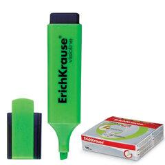 Текстмаркер ERICH KRAUSE «Visioline V-20», скошенный наконечник 0,6-5,2 мм, зеленый