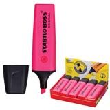 Текстмаркер STABILO «Boss», скошенный наконечник 2-5 мм, розовый