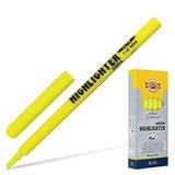 Текстмаркер KOH-I-NOOR скошенный наконечник 1-4 мм, желтый