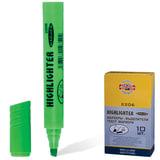 Текстмаркер KOH-I-NOOR, скошенный наконечник 1-5 мм, зеленый