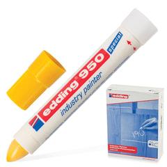 Маркер-паста для промышленной графики EDDING, 10 мм, желтый