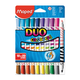 ���������� MAPED (�������) «Color'peps Duo», 20 ��., 10 ��., �������������, �����������, 2 ������� ���� 1 � 1 ��, ����������