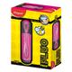 Текстмаркер MAPED (Франция) «Fluo Pep's Classic», скошенный наконечник 1-5 мм, розовый