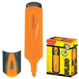 Текстмаркер MAPED (Франция) «Fluo Pep's Classic», скошенный наконечник 1-5 мм, оранжевый
