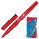 Маркер перманентный (нестираемый) BEIFA (Бэйфа), ультратонкий наконечник 0,33 мм, красный