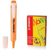 Текстмаркер STABILO «Swing cool», скошенный наконечник 1-4 мм, карманный клип, оранжевый