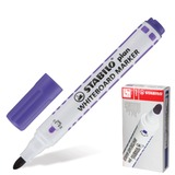 Маркер для доски STABILO «Plan», пулевидный наконечник 2,5-3,5 мм, фиолетовый