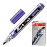 Маркер перманентный STABILO «Mark», пулевидный наконечник 1,5-2,5 мм, фиолетовый