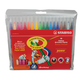 Фломастеры STABILO «Power», 18 цветов, пулевидный наконечник 2 мм, пластиковый футляр