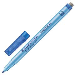 Маркер универсальный для любой гладкой поверхности со стирателем STAEDTLER, 1 мм, синий