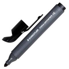Маркер перманентный STAEDTLER (Германия) «Triplus», трехгранный, круглый, 2 мм, черный