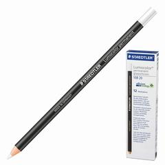Маркер-карандаш сухой перманентный для любой поверхности, белый, 4,5 мм, STAEDTLER