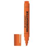 Текстмаркер CENTROPEN, скошенный наконечник 1-4,6 мм, неоновый оранжевый