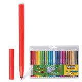 Фломастеры CENTROPEN, 24 цвета, «Слонята», смываемые, европодвес