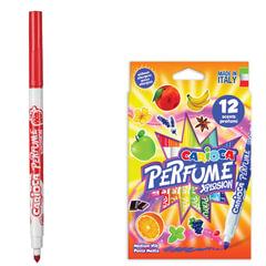 Фломастеры ароматизированные CARIOCA (Италия) «Perfume xplosion», 12 цветов, смываемые, картонная упаковка