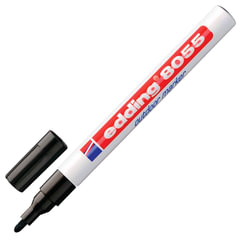 Маркер перманентный влаго-светостойкий для наружных работ EDDING, 1-2 мм, черный, блистер