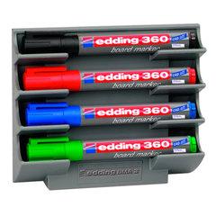 Держатель магнитный для 4 маркеров для доски EDDING, 150×130 мм
