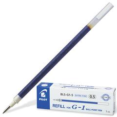 Стержень гелевый PILOT, 128 мм, евронаконечник, узел 0,5 мм, линия 0,3 мм, синий