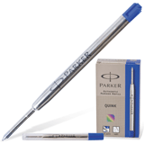 Стержень шариковый PARKER, оригинальный (Великобритания), 0,8 мм, синий