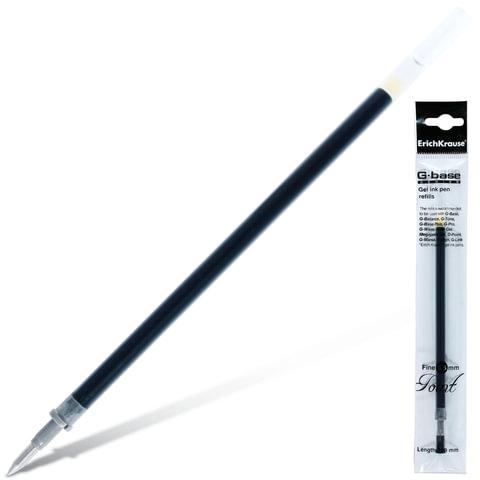 Стержень гелевый ERICH KRAUSE «G-Base fine», 129 мм, евронаконечник, 0,5 мм, черный