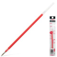 Стержень гелевый BEIFA (Бэйфа), 135 мм, евронаконечник, узел 0,8 мм, линия 0,6 мм, подвес, красный