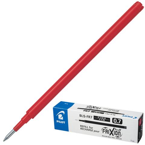 Стержень гелевый «Пиши-стирай» PILOT BLS-FR-7, 111 мм, евронаконечник, 0,35 мм, к ручке 141835, красный