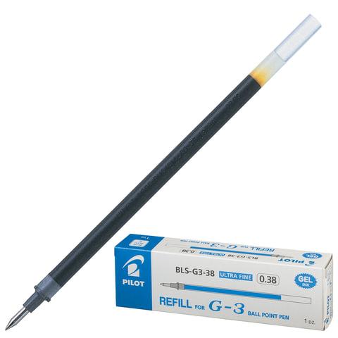 Стержень гелевый PILOT, 128 мм, евронаконечник, узел 0,38 мм, линия 0,2 мм, синий