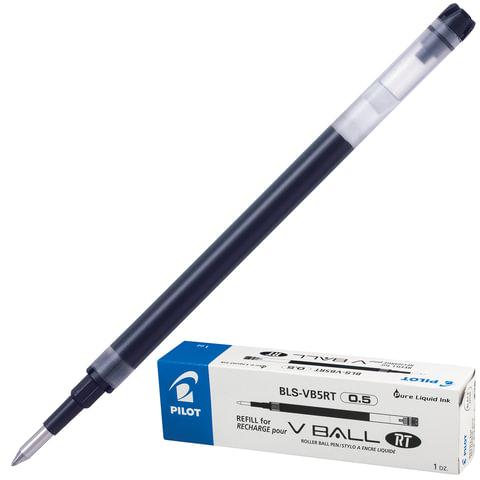Стержень-роллер PILOT BLS-VB5RT, 111 мм, толщина письма 0,25 мм (к ручке 141830), черный