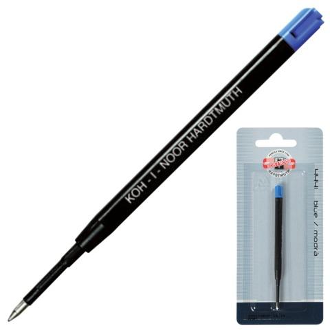 Стержень шариковый KOH-I-NOOR пластиковый, тип PARKER, длина 98 мм, наконечник 0,8 мм, блистер, синий