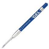 Стержень гелевый PARKER для шариковой ручки, оригинальный (Франция), 0,7 мм, блистер, синий