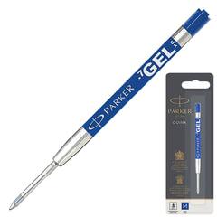 Стержень гелевый PARKER (Германия) «Quink Gel», металлический, 98 мм, узел 0,7 мм, блистер, синий, 1950346